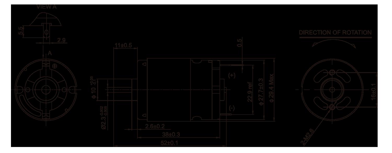 DC-Motor_RS-380-385PA_Outline绘图